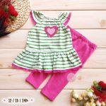 2-Piece My Little Heart Dress and Legging